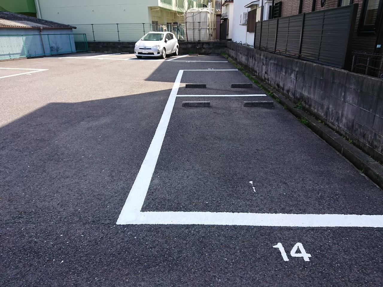 大阪府泉佐野市 駐車場 ライン塗装