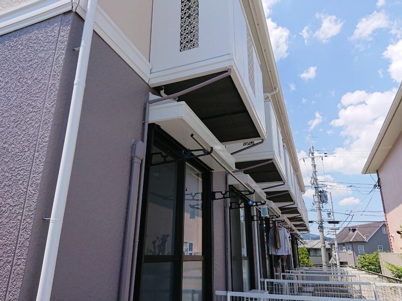大阪府箕面市 集合住宅 外壁塗装工事