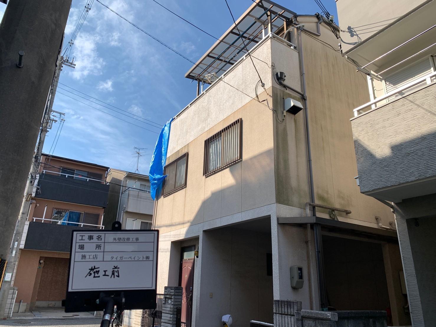 大阪市 平野区 外壁塗装