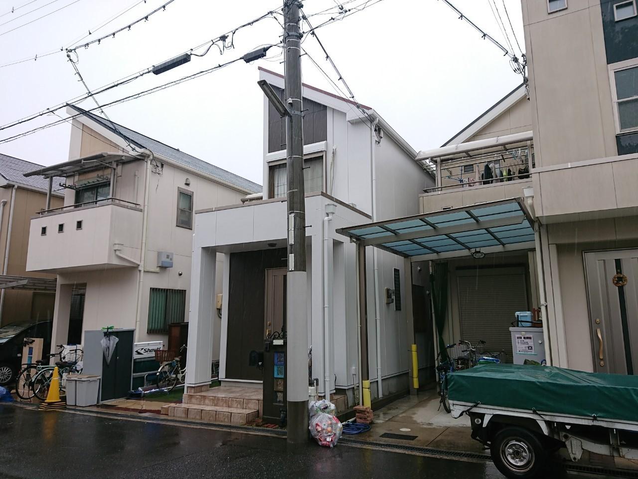 大阪市 淀川区 住宅 外壁塗装工事