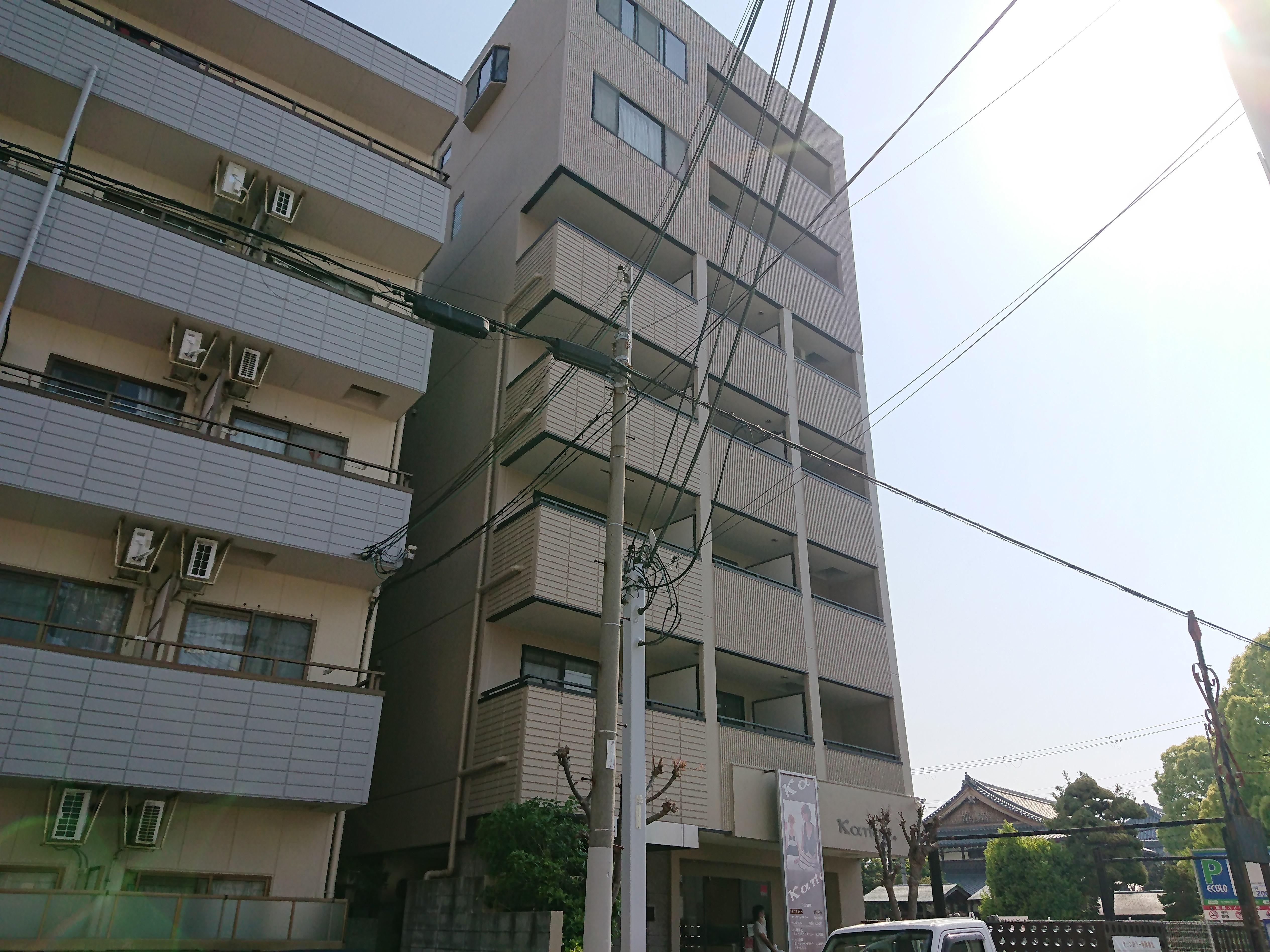 兵庫県西宮市 マンション 塗装工事