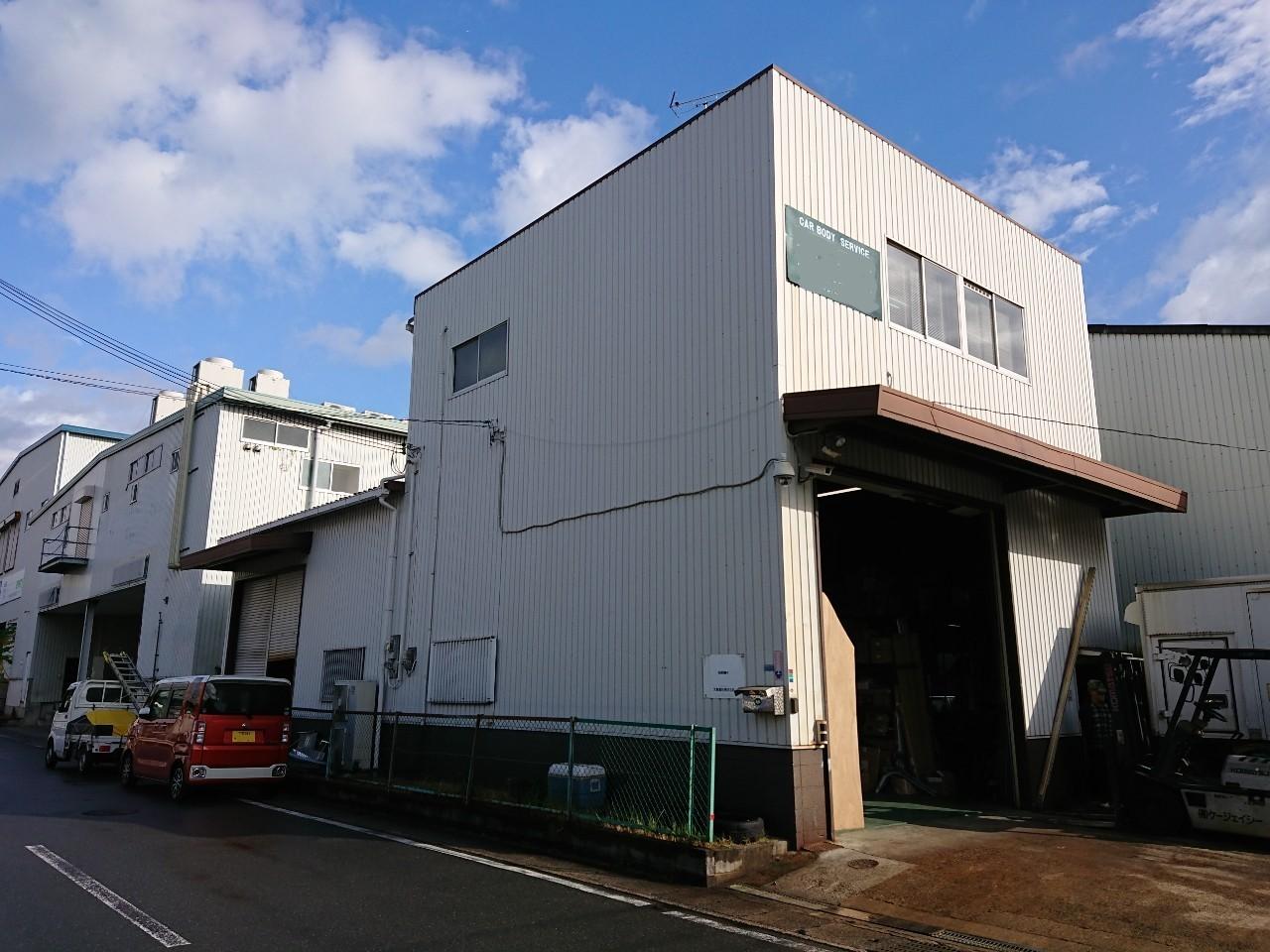 大阪府 摂津市 工場 外壁屋根塗装工事