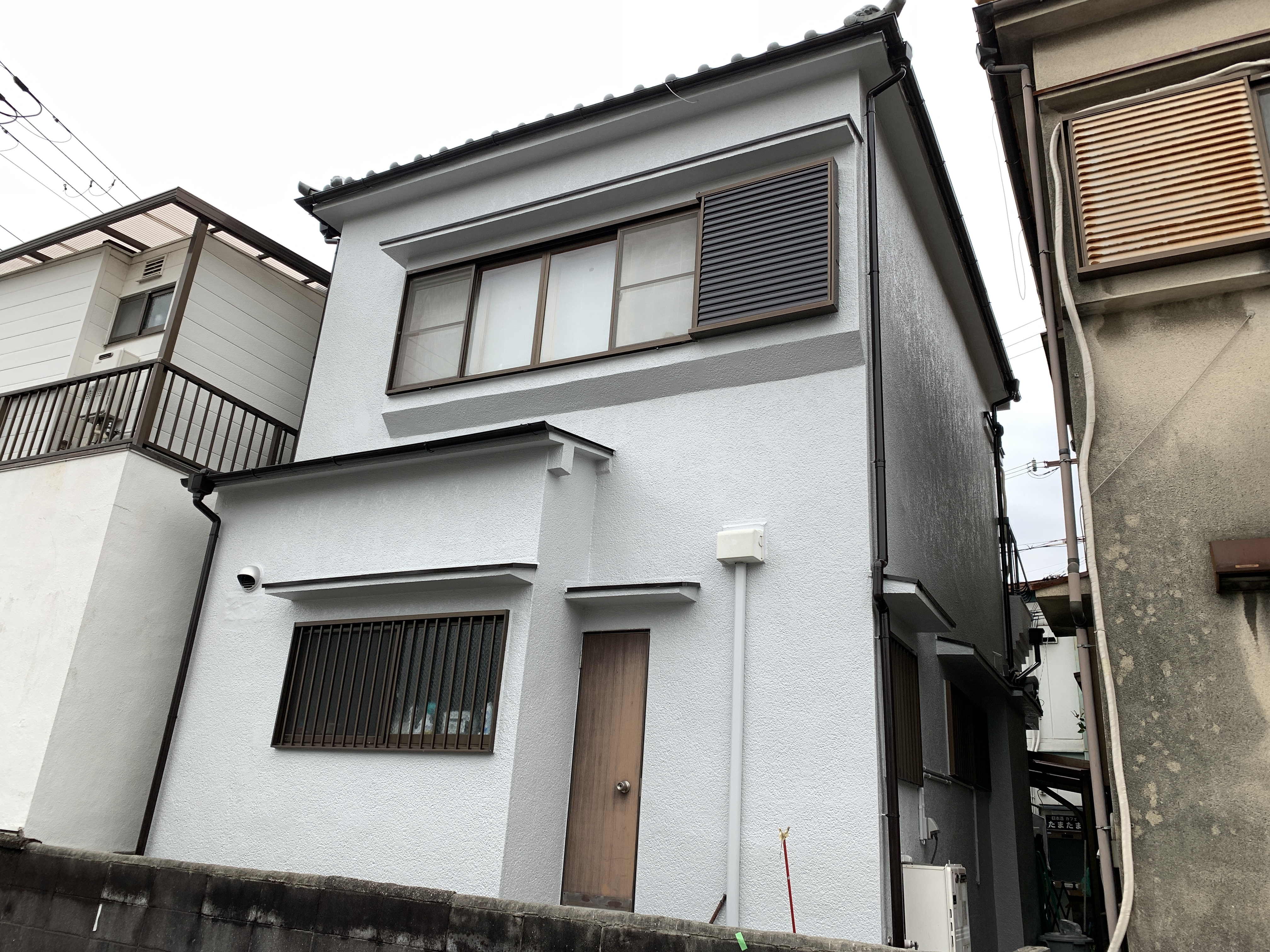 東淀川区井高野 追加外壁塗装